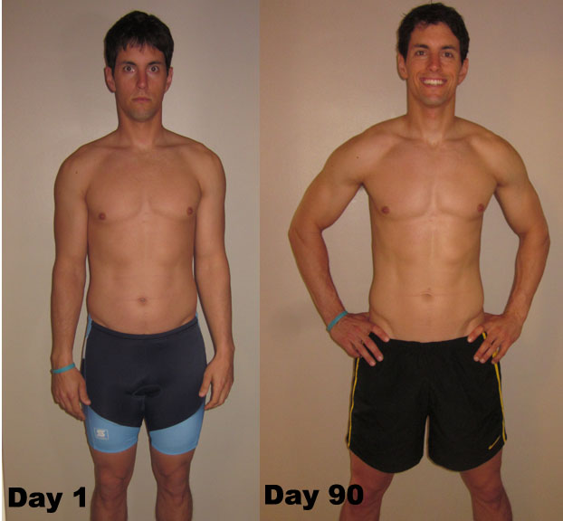 P90X Day 90 – Before and After Pictures & Measurements