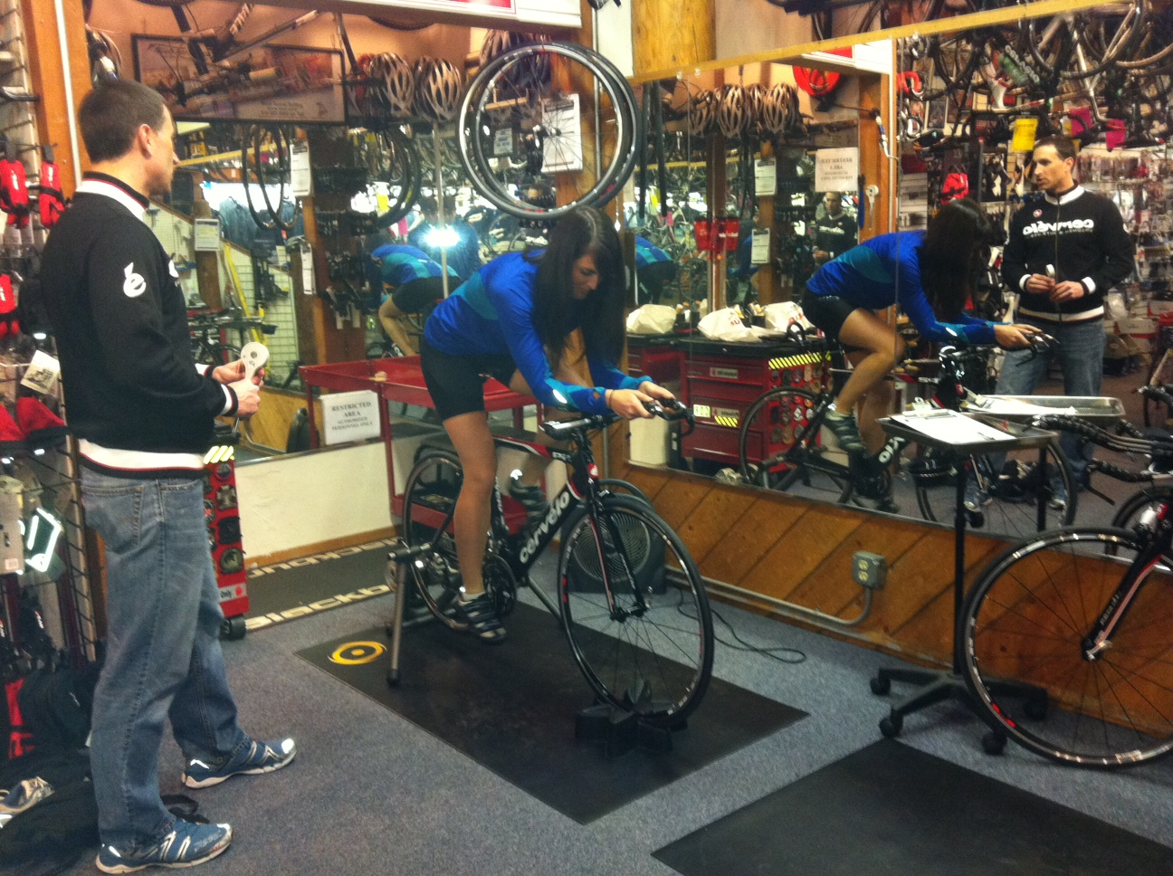 Getting Fitted on My New Bike!