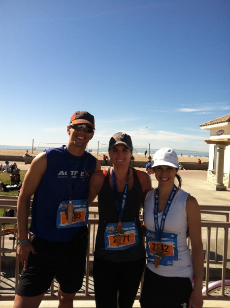 Sub 3:50 Glory at Surf City Marathon!