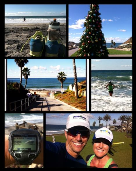 Photo Collage From Our 20 Mile Run This Weekend
