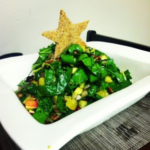 Christmas Tree Salad - Healthy and Festive!