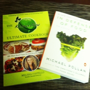 New Books to Help With My Nutrition Goals!